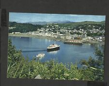 J.A.Dixon Colour Postcard Oban -Mull Car Ferry From Pulpit Hill Argyll Unposted