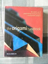 The Origami Handbook by Rick Beech (2002, Hardcover, Illustrated)