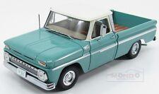 Chevrolet C-10 Styleside Pick-Up 1965 Green White Sunstar 1:18 SS1363 Model