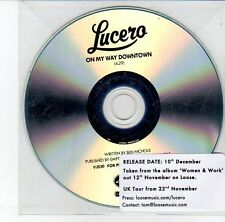(EG968) Lucero, On My Way Downtown - DJ CD