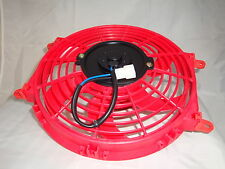 "New Red Colour HIGH PERFORMANCE 10"" INCH THERMO FAN electric fan"