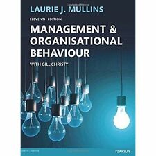 Management and Organisational Behaviour by Laurie J. Mullins (Paperback, 2016)