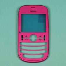 New original genuine front cover for Nokia Asha 201 pink