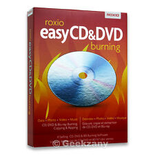 Roxio Easy CD & DVD Burning - Complete Product - 1 Use
