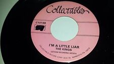 """THE KINGS I'm A Little Liar / Surrender COLLECTABLES 1019 45 7"""""""