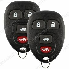2 Replacement for Buick Allure Lacrosse Chevy Cobalt Malibu Remote Car Fob 523