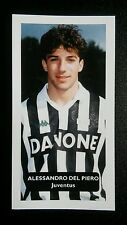 ITALY - JUVENTUS - ALESSANDRO DEL PIERO Score UK football trade card