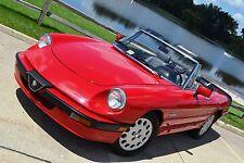 Alfa Romeo: Spider 2dr Coupe Qu