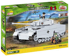 Pz.Kpfw IV F1/G/H COBI 2481 Small Army building blocks WWII 3in1 bricks not LEGO