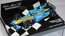 1/43 RENAULT F1 TEAM  FERNANDO ALONSO SHOWCAR 2004 BY MINICHAMPS RARE