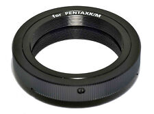 T2 T lens to Pentax PK K mount adapter ring for SLR DSLR camera Made in Japan