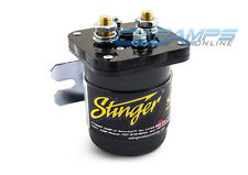 NEW STINGER 200 AMP PRO BATTERY ISOLATOR & RELAY DUAL CAR TRUCK STEREO WIRING