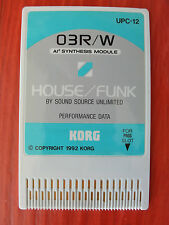 RARE Vintage KORG Ai2 03RW 01W DATA ROM Card original sounds HOUSE FUNK UPC-12