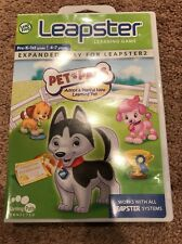 Leapster learning games Pet Pals