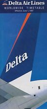 DELTA AIR LINES - SYSTEM TIMETABLE - 1 JUN 1997