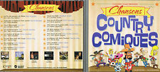 Chansons Country Comiques (16 succes) CD BRAND NEW at MusicaMonette in Canada