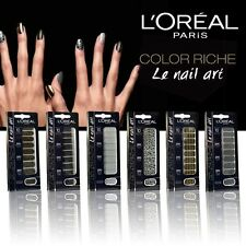 L'ORÉAL 18 STICKERS ONGLES COLOR RICHE LE NAIL ART 031 TIE DYE ROCKS