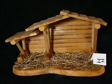 Zii Precious Moments-Wooden Nativity Manger/Creche/Stable