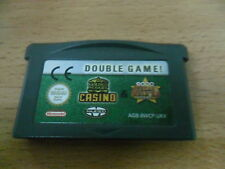 Double Game Golden Nugget Casino Texas HOldem - GBA - Game Boy Advance PAL ESP