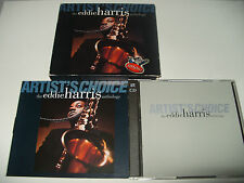 Eddie Harris - Artist's Choice (The Anthology, 1994) 2 cd + booklet Rare