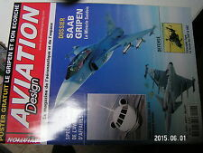 ¤¤ Aviation design magazine n°4 Dossier SAAB Gripen  Eurocopter Tigre Falcon 200