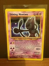Shining Mewtwo (109/105) Neo Destiny Set Holo Pokemon Card. Near Mint Condition