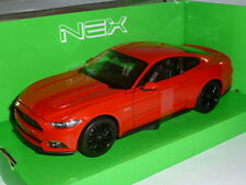 2015 Ford Mustang GT 1:24 Red by Welly