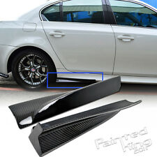 Carbon Fiber BMW E60 M5 Model SEDAN SIDE SKIRT BODY KIT RIGHT AND LEFT
