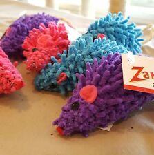 Zanies Moppy Mice cat toy. Lot of 6.