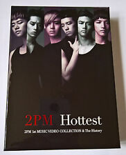 2PM Hottest 1st MUSIC VIDEO COLLECTION & The History 2 DVD Set Photocard