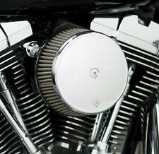 Arlen Ness Big Sucker Stage I Air Filter Kit with Cover and Stainless Steel Jack