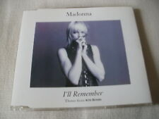 MADONNA - I'LL REMEMBER - UK CD SINGLE