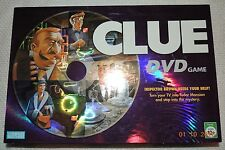 CLUE DVD GAME PARKER BROTHERS CLASSIC MYSTERY BOARD GAME 100% COMPLETE EXCELLENT