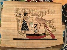 Egyptian Painting on Papyrus paper of Cleopatra era