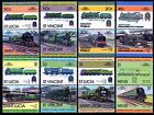 SOUTHERN RAILWAY SR Collection GB Train Locomotive Stamps (Leaders of the World)