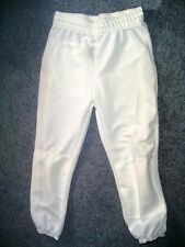 XL Youth White softball or baseball pants