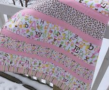 Baby Girl Complete Quilt KIT Sweet Baby Girl Fabric Riley