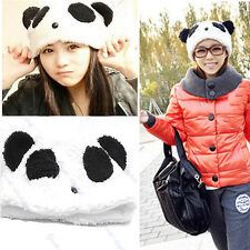 Cartoon Animal Cute Panda Bear Beanie Winter Fitted Warm Soft Hat