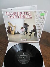 Fraunhofer Saitenmusik No 3 FOC '87 German Trikont ORIGINAL Vinyl LP
