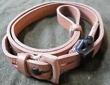 WWII GERMAN ARMY HEER WAFFEN K98 98K LEATHER RIFLE CARRY SLING