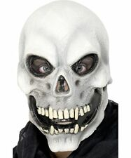 Male Mens TESCHIO MASCHERA HALLOWEEN SCHELETRO MORTE Costume Accessorio
