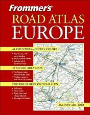 Frommer's Road Atlas Europe-ExLibrary