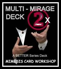 The MULTI-MIRAGE DECK [2 forces in 1 forcing deck] - A BETTER Series Deck