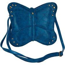 Womens Butterfly Shape Cross Body Faux Leather Shoulder Handbag Ladies Bag