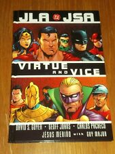 JLA/JSA: Virtue and Vice by Geoff Johns (Hardback)   156389937X