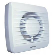 """-5@2 Xpelair LV100T 4"""" Low Voltage Extractor Fan with Timer Suitable  Bathroom"""