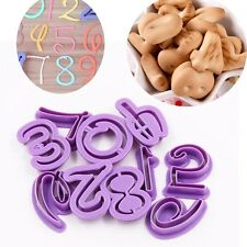 Numbers Letters Funky Disney font Cake Decorating icing Fondant cookie cutter