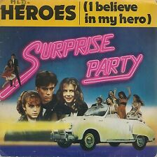 """45 TOURS / 7"""" SINGLE--SURPRISE PARTY--HEROES / STOMP SWAMP FEVER--1983"""