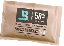 Boveda 58% RH 2-Way Humidity Control, Large 67 gram, 4-Pack