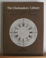 The Clockmaker's Library 1977 Bromley Books Manuscripts About Clocks Watches